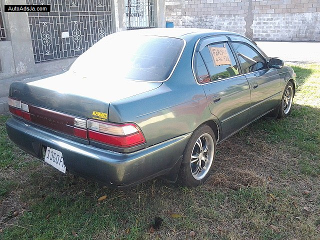 Autoadsja Cars For Sale In Jamaica: 1995 Toyota Corolla For Sale In Kingston / St. Andrew