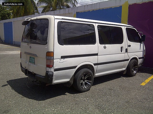 1996 Toyota Hiace For Sale In St Catherine Jamaica