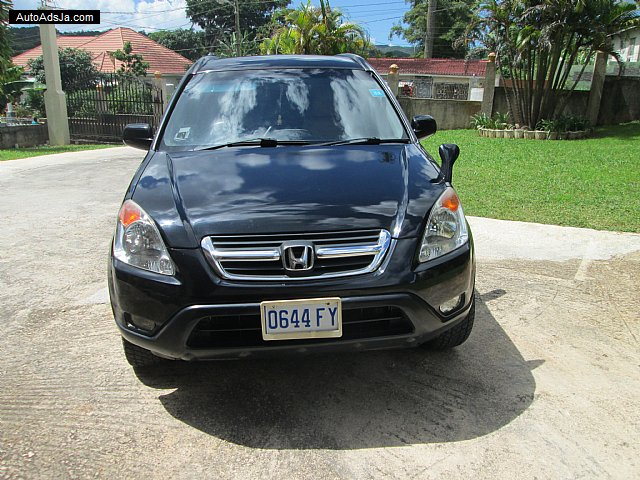 2002 Honda Crv For Sale In Jamaica Autoadsja Com