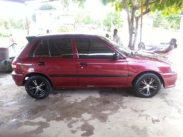 1993 toyota turbo starlet for sale in clarendon jamaica autoads jamaica. Black Bedroom Furniture Sets. Home Design Ideas