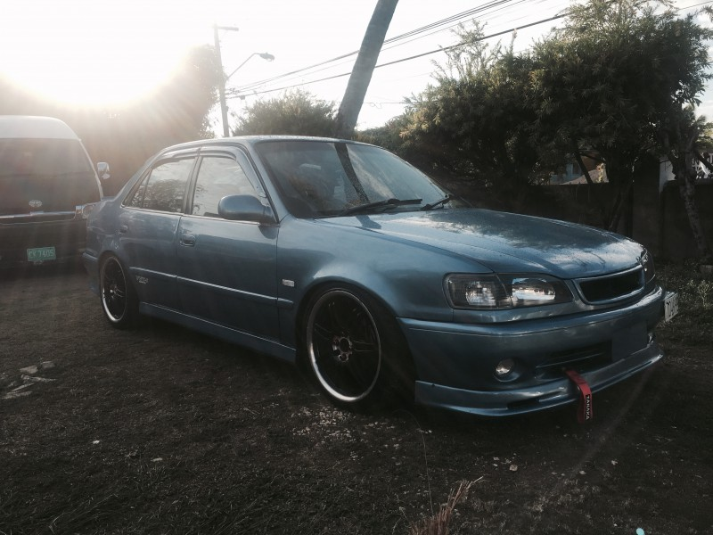 1995 toyota corolla 110 for sale in st catherine jamaica autoads jamaica. Black Bedroom Furniture Sets. Home Design Ideas