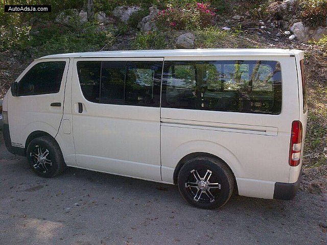 2007 Toyota Hiace For Sale In St James Jamaica Autoads