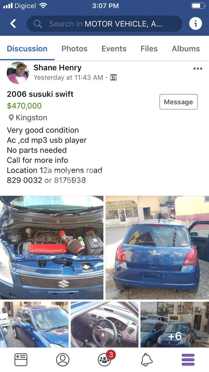 2006 Suzuki Swift for sale in Kingston / St  Andrew, Jamaica