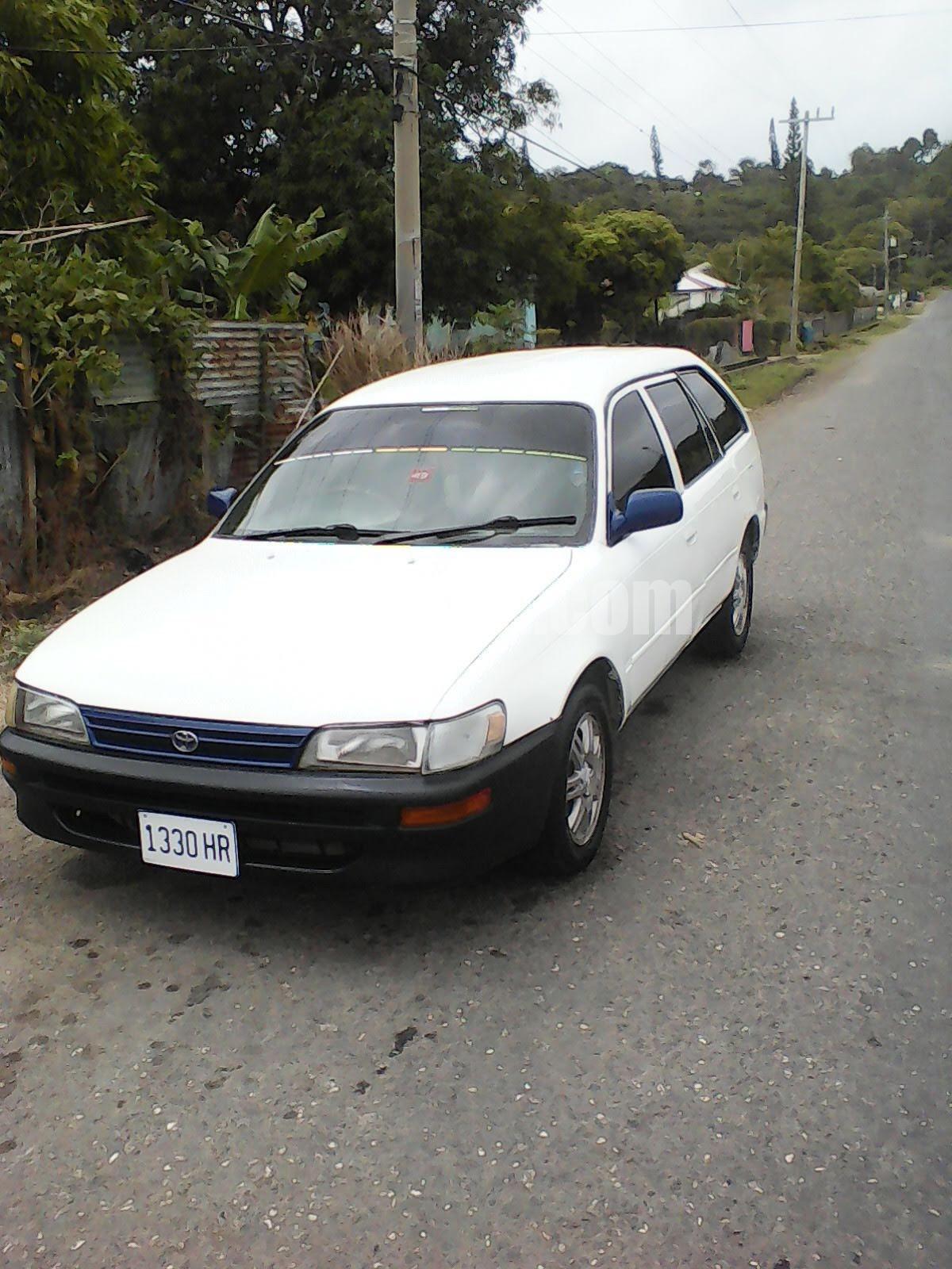 1999 Toyota Corolla Wagon For Sale In St Thomas Jamaica Autoadsja Com