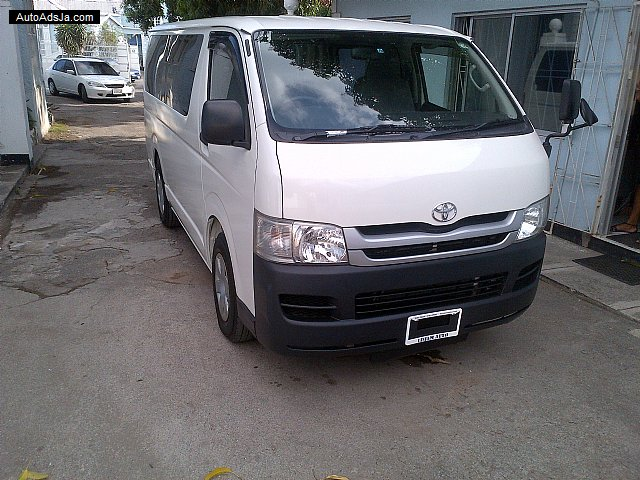 Autoadsja Cars For Sale In Jamaica: 2008 Toyota HIACE For Sale In Jamaica