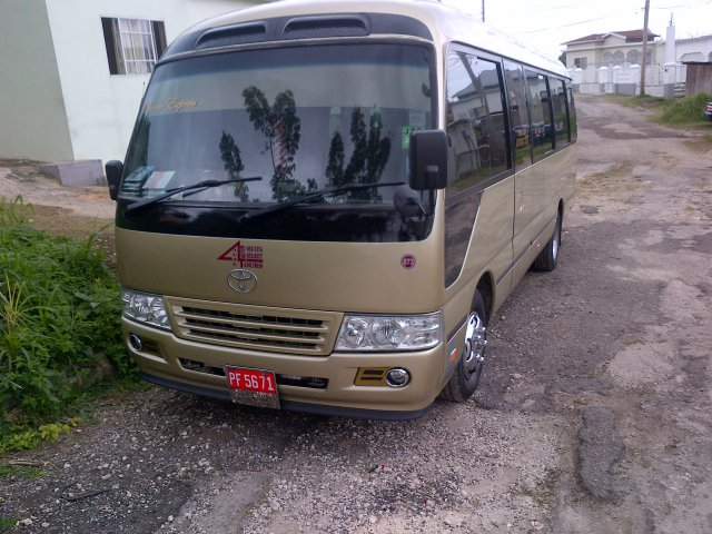 2002 Toyota Coaster For Sale In Hanover, Jamaica