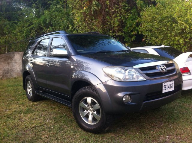 Autoadsja Cars For Sale In Jamaica: 2008 Toyota Fortuner For Sale In St. James, Jamaica