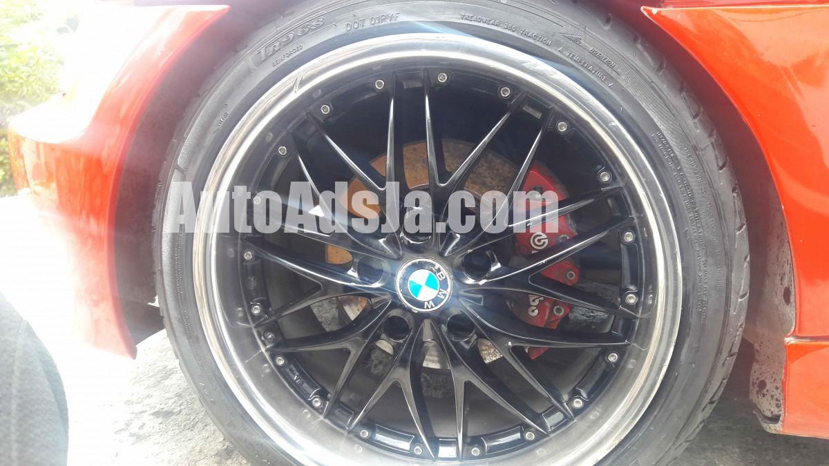 1999 Bmw 18 Black Chrome Rims For Sale In St James Jamaica Autoadsja Com