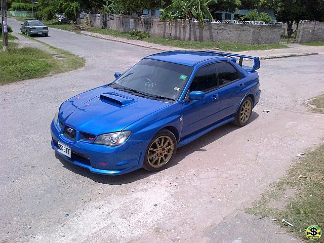 2005 subaru impreza wrx sti for sale in kingston st andrew jamaica autoads jamaica. Black Bedroom Furniture Sets. Home Design Ideas