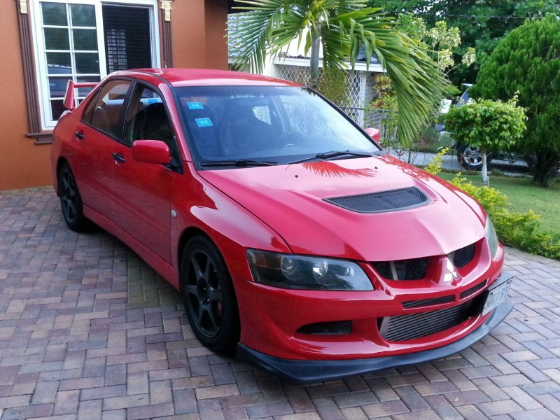 2004 mitsubishi evolution for sale in st ann jamaica autoads jamaica. Black Bedroom Furniture Sets. Home Design Ideas