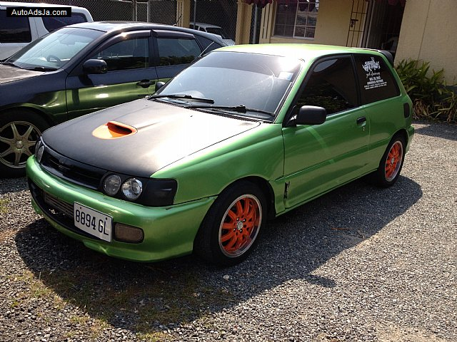 1991 toyota starlet gt for sale in kingston st andrew jamaica autoads jamaica. Black Bedroom Furniture Sets. Home Design Ideas
