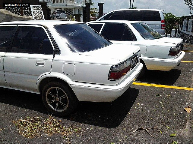 Autoadsja Cars For Sale In Jamaica: 1990 Toyota 2 Corolla Flatty For Sale In Jamaica