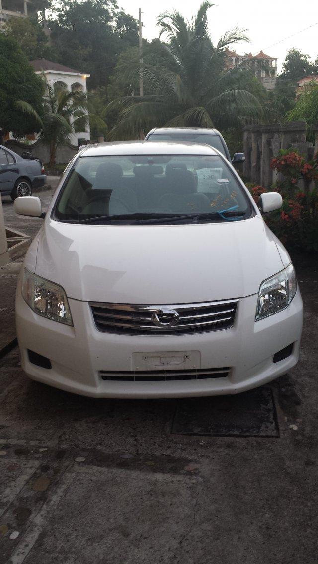 2010 Toyota Axio For Sale In St Ann Jamaica Autoadsja Com
