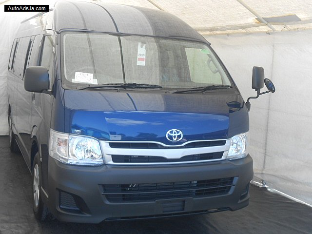 Autoadsja Cars For Sale In Jamaica: 2013 Toyota Hiace GL 14 Seater For Sale In St. Mary