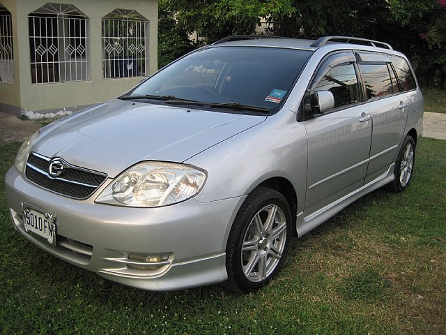 2002 Toyota Carolla Fielder S For Sale In St James Jamaica
