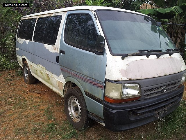 Autoadsja Cars For Sale In Jamaica: 2000 Toyota Hiace For Sale In Trelawny, Jamaica