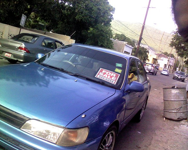 1995 Toyota Corolla for sale in Kingston  St Andrew Jamaica