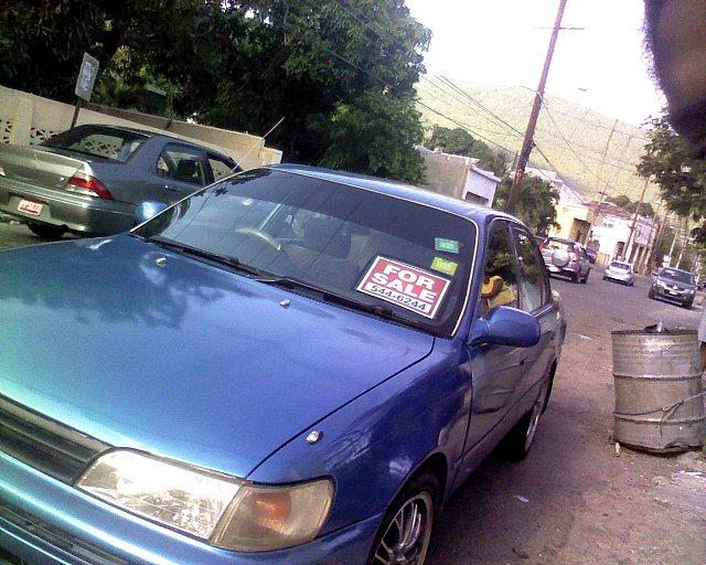 toyota corolla  sale  jamaica autoads jamaica