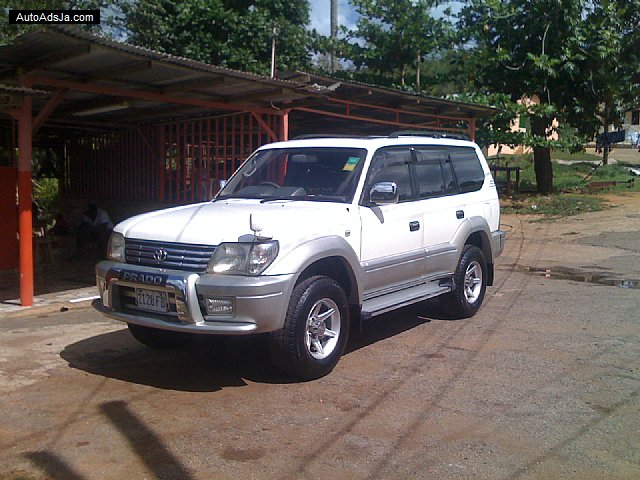 Toyota Prado Land Cruiser For Sale In Manchester Jamaica