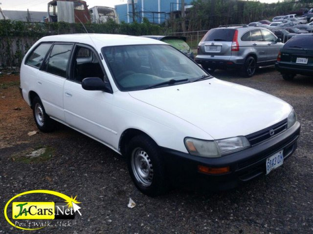1997 toyota corolla wagon for sale in manchester jamaica autoads jamaica. Black Bedroom Furniture Sets. Home Design Ideas