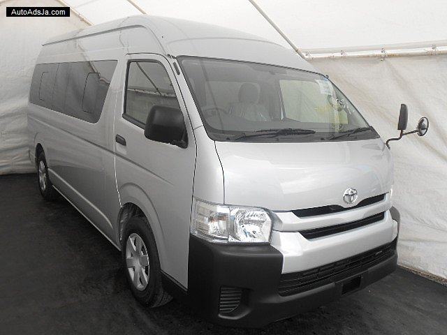 2014 Toyota Hiace Gl 14 Seater For Sale In St Mary