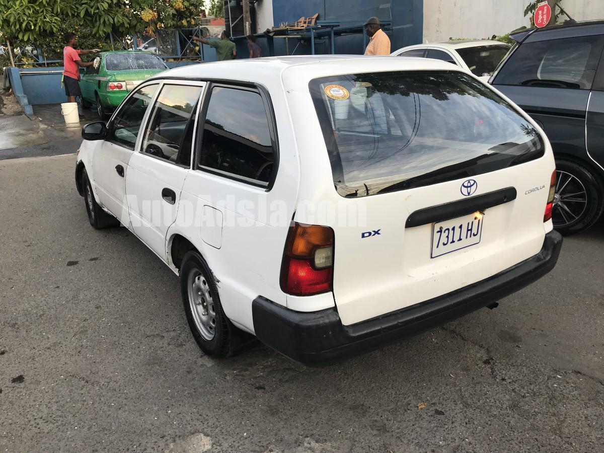1999 Toyota Corolla Wagon For Sale In Kingston St Andrew Jamaica Autoadsja Com
