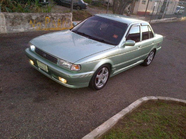 1991 Nissan Sunny B13 For Sale In Manchester Jamaica
