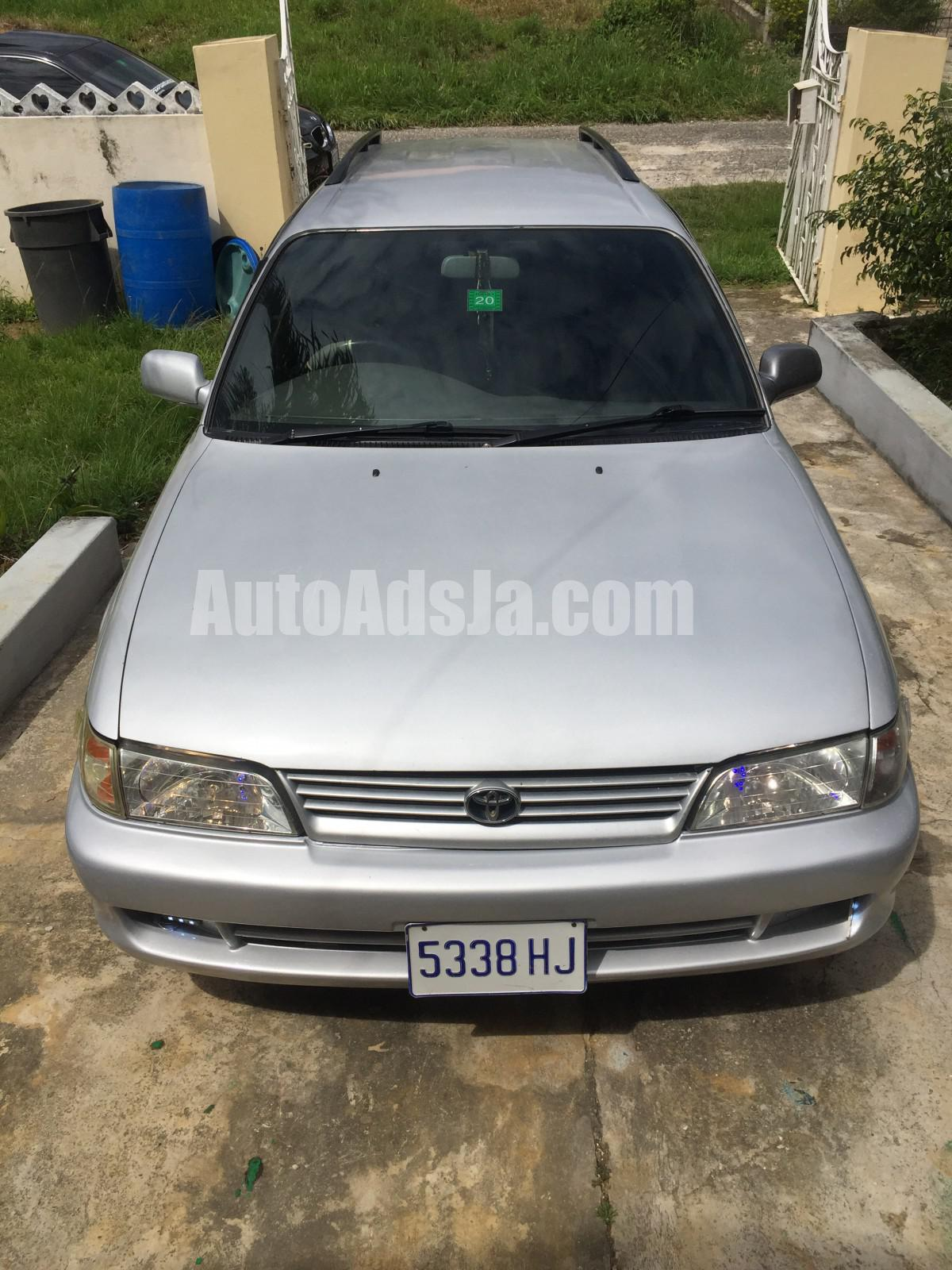 2000 Toyota Corolla G Touring For Sale In St Elizabeth Jamaica Autoadsja Com