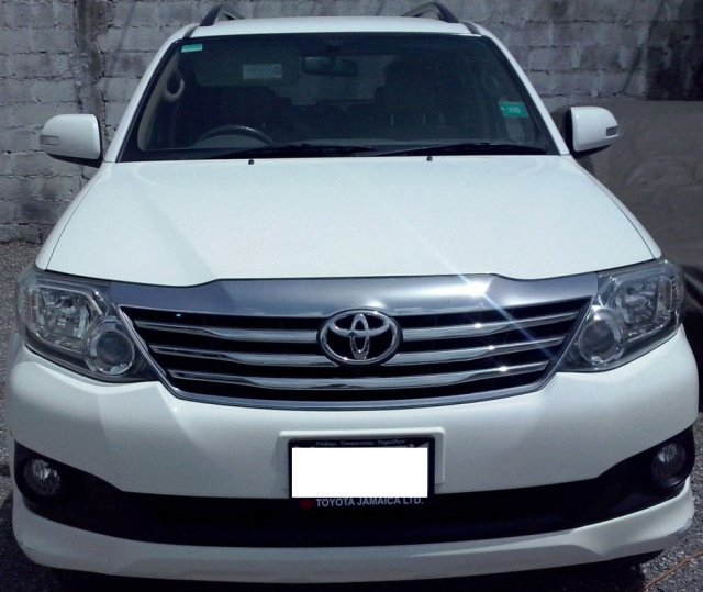 2013 Toyota Fortuner For Sale In Kingston St Andrew