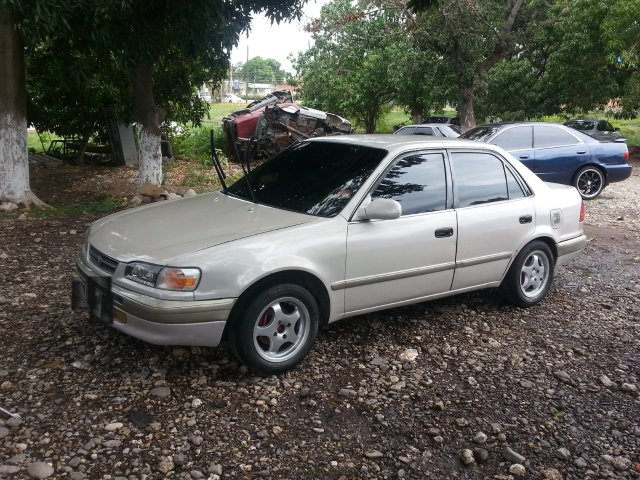Cheap Toyota 110 For Sale In Jamaica: 1996 Toyota Corolla 110 For Sale In Kingston / St. Andrew