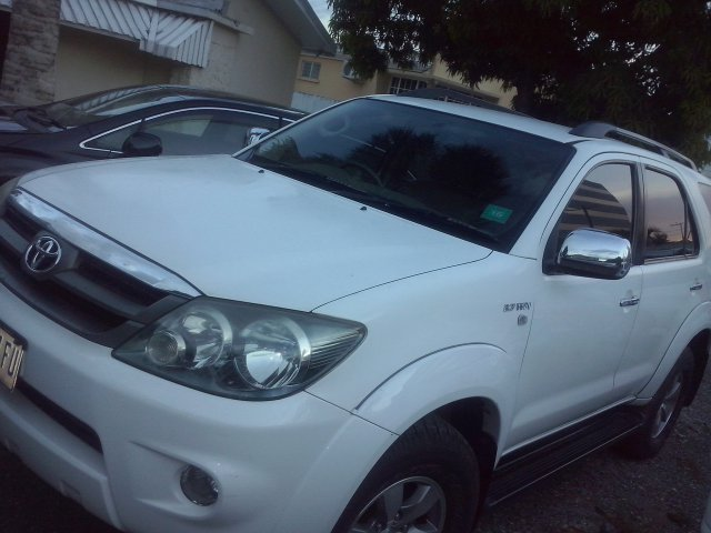 2008 Toyota Fortuner For Sale In Kingston St Andrew Jamaica Autoads Jamaica