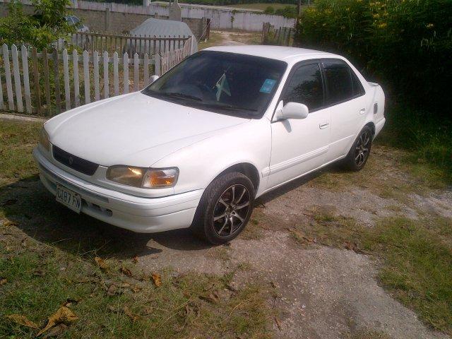 1996 Toyota Corolla 110 For Sale In Hanover Jamaica