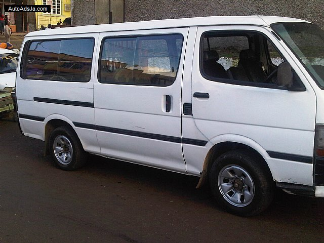 1996 toyota hiace for sale in manchester  jamaica