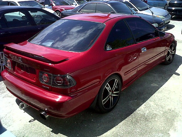 1999 honda civic sir for sale in st james jamaica autoads jamaica. Black Bedroom Furniture Sets. Home Design Ideas