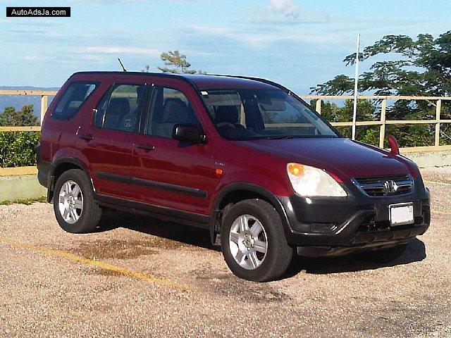 2004 Honda CRV for sale in Manchester, Jamaica | AutoAdsJa.com