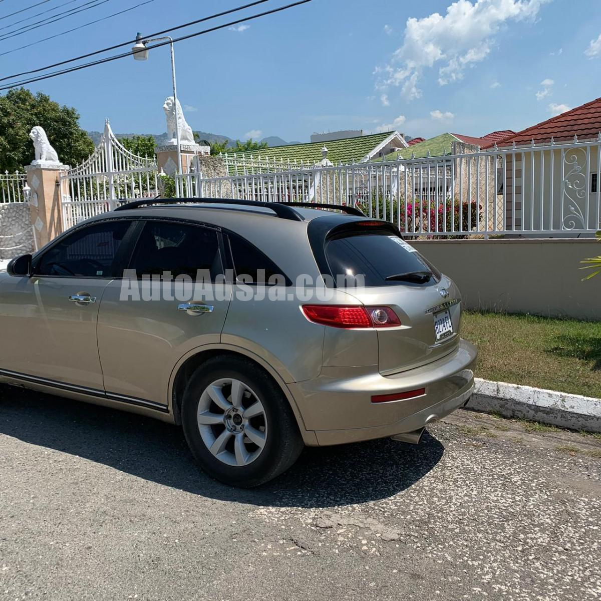 2004 Infiniti Fx35 For Sale In Kingston / St. Andrew