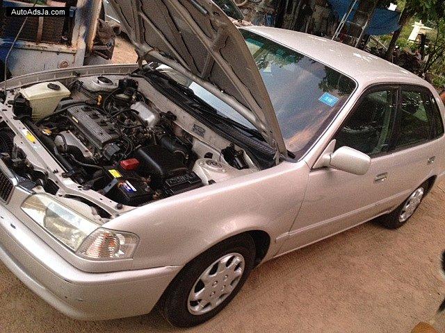 2000 Toyota Sprinter For Sale In Kingston St Andrew Jamaica