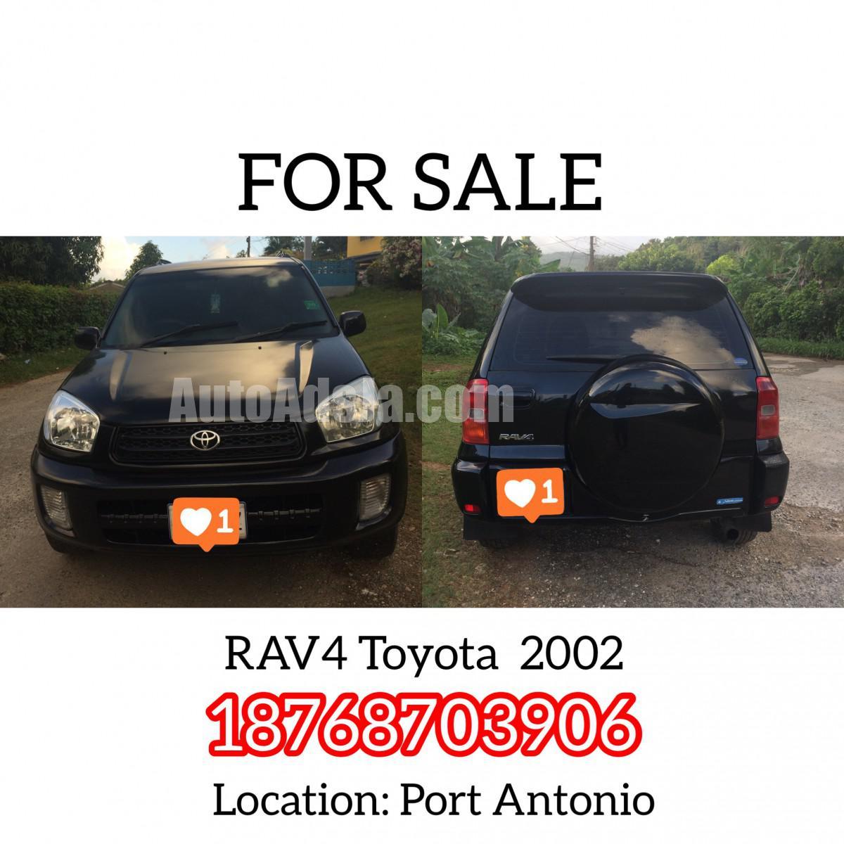 2002 Toyota Rav4 For Sale In Portland, Jamaica