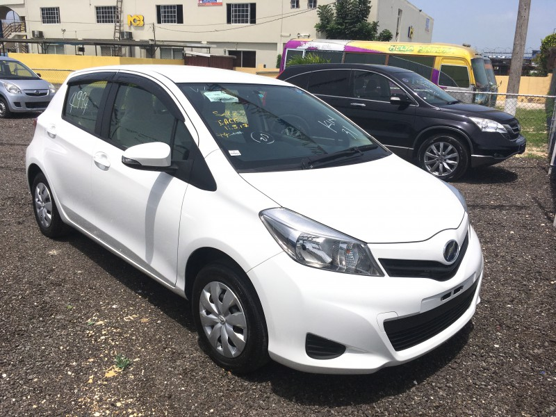 2012 toyota vitz cash import for sale in st catherine for Jamaica customs duty on motor vehicles
