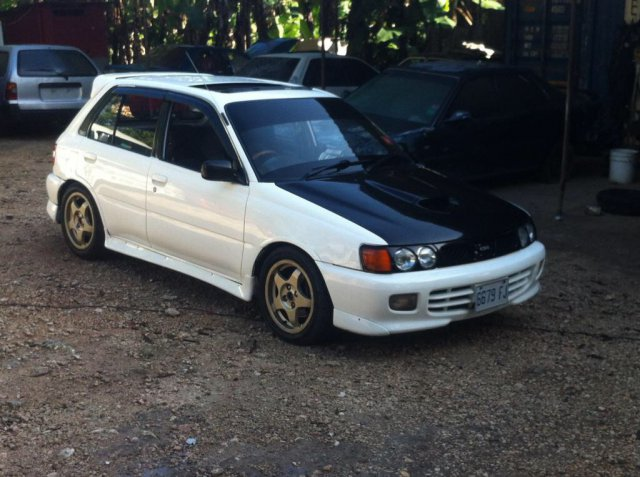 Autoadsja Cars For Sale In Jamaica: 1994 Toyota Turbo Starlet For Sale In Jamaica