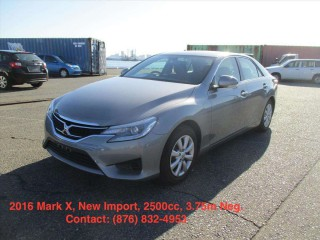'16 Toyota Mark X for sale in Jamaica