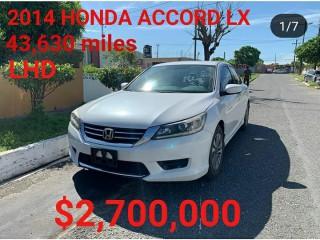 2014 Honda Accord LX for sale in Kingston / St. Andrew, Jamaica