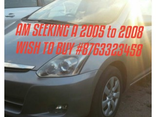 2007 Toyota Wish for sale in Hanover, Jamaica