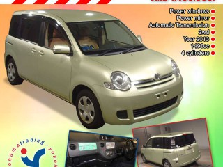 '13 Toyota SIENTA for sale in Jamaica