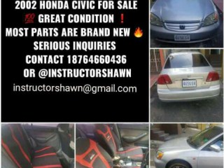 2002 Honda Civic for sale in St. James, Jamaica