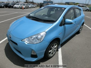 '13 Toyota Aqua for sale in Jamaica