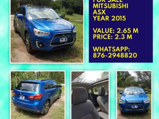 2015 Mitsubishi ASX for sale in Kingston / St. Andrew,
