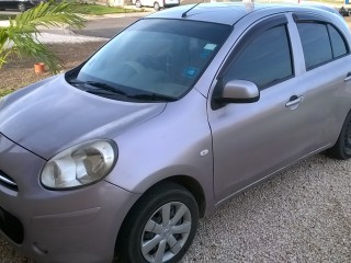 '11 Nissan March for sale in Jamaica