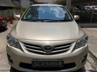 '13 Toyota Altis for sale in Jamaica