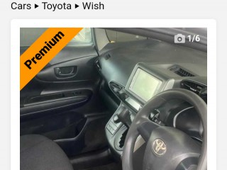 2012 Toyota Wish for sale in Kingston / St. Andrew,